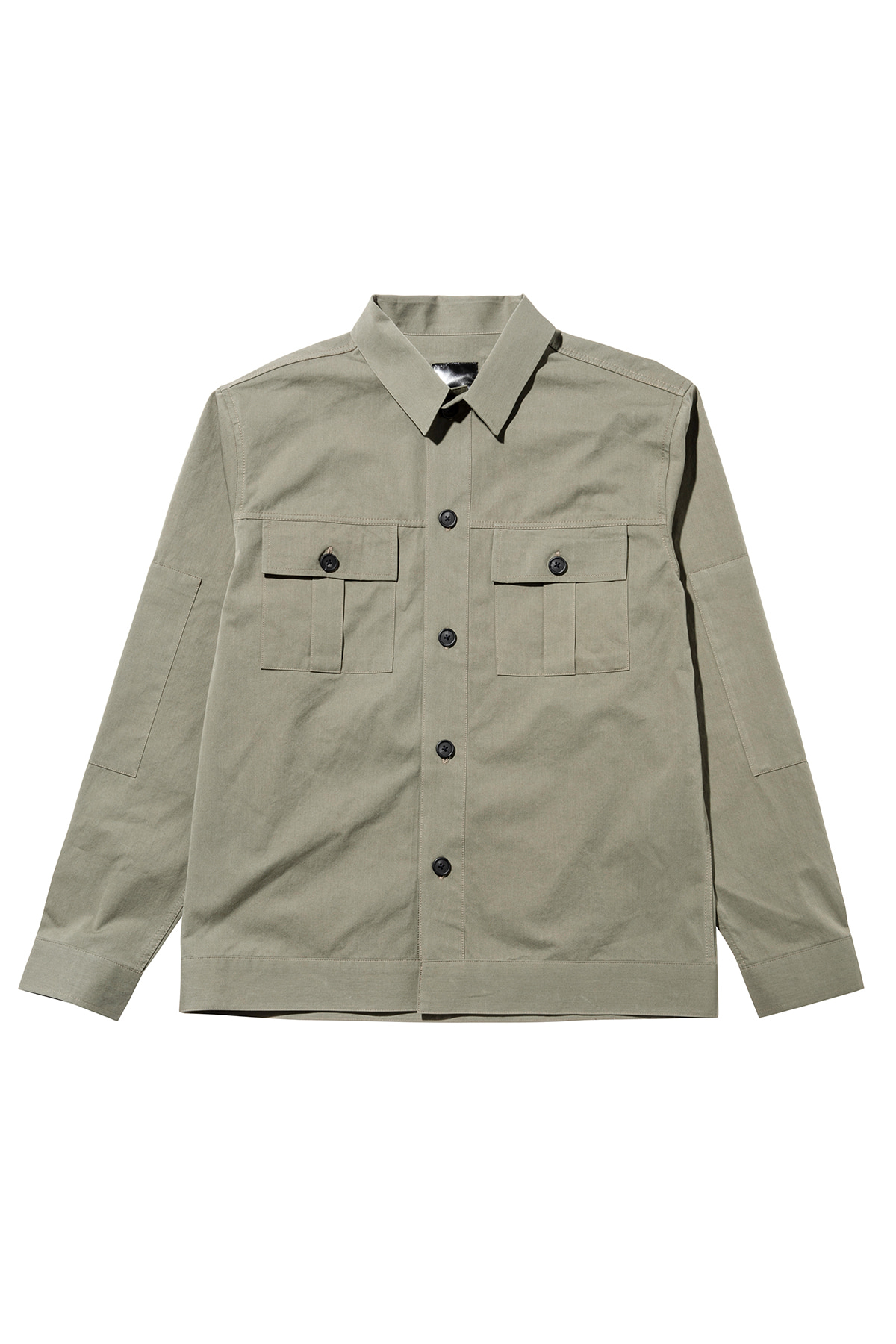Fatigue pocket shirt jacket (kakhi) #jp37
