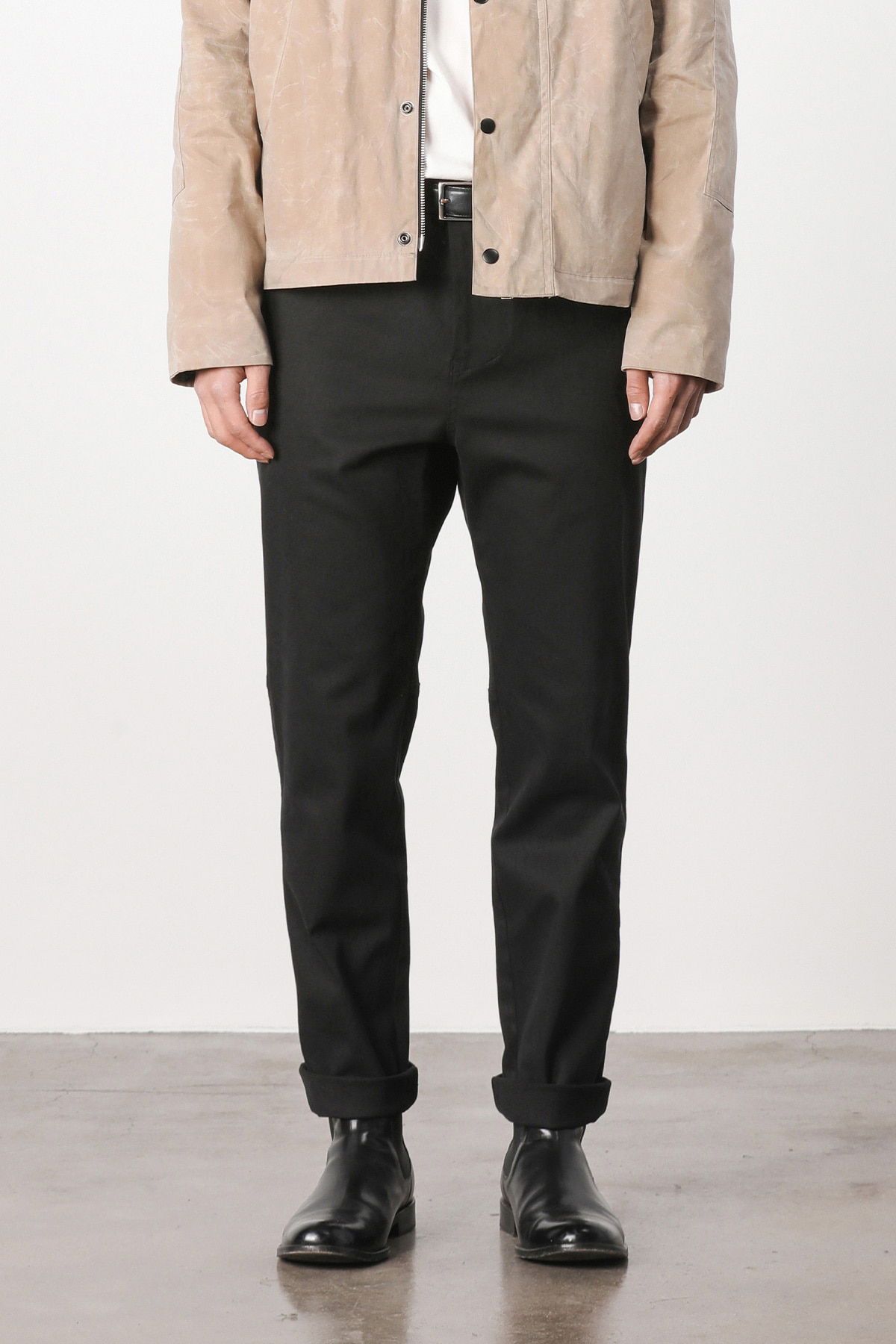페이탈리즘 Fatigue hound tapered pants (black) #jp01