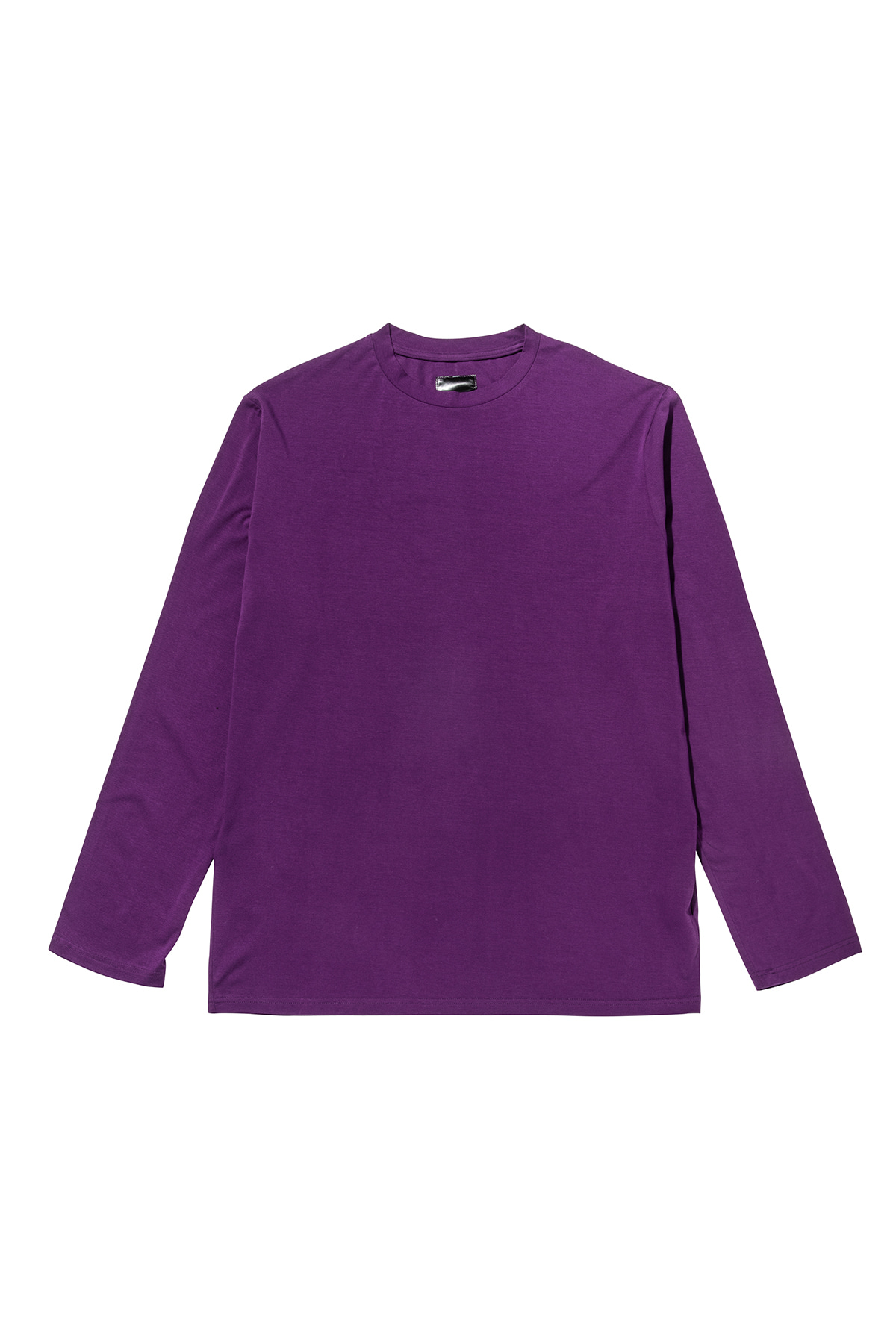 Pigment washing sleeve T-shirt (purple) #jp29