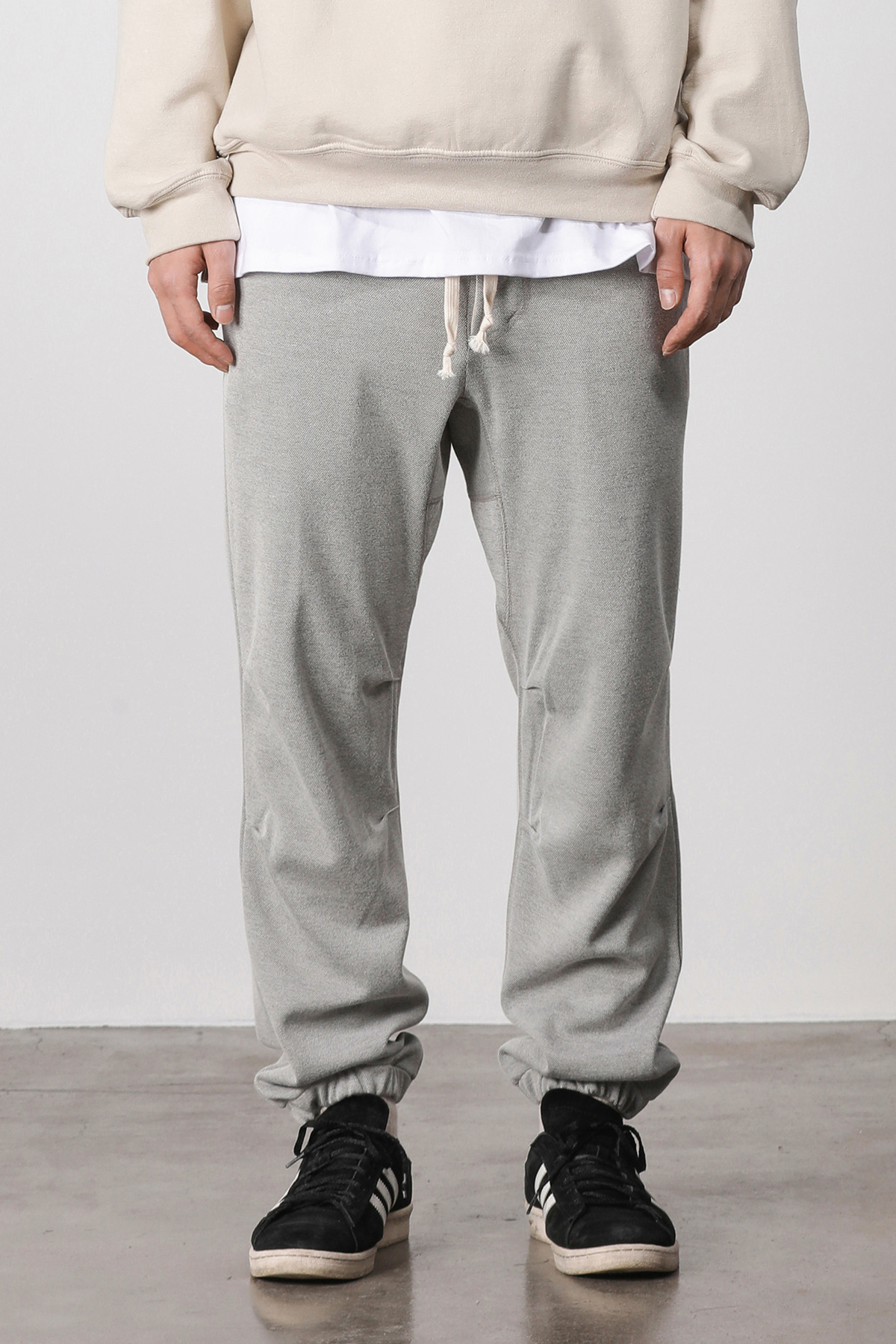 Melange training jogger pants (gray) #jp14