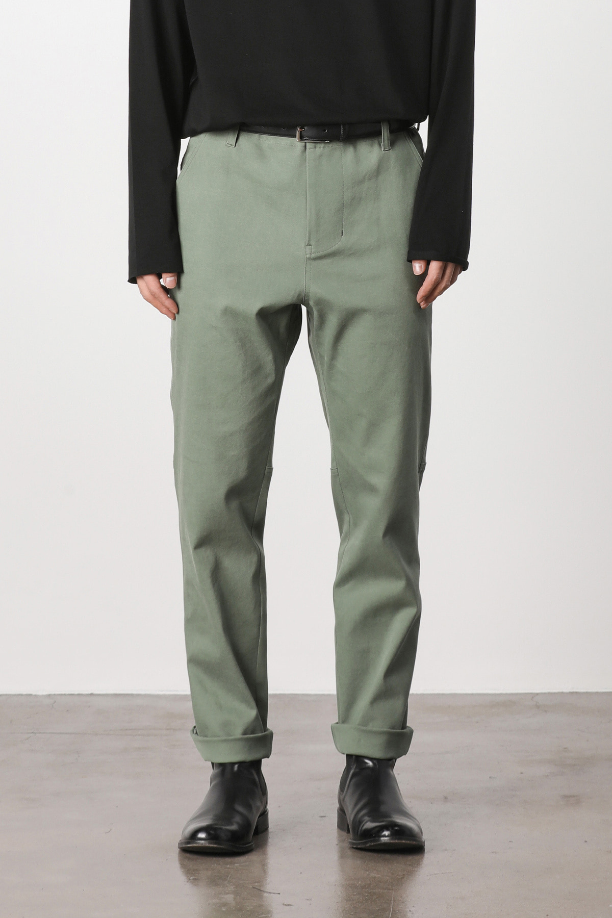 Fatigue hound tapered pants (kakhi) #jp03