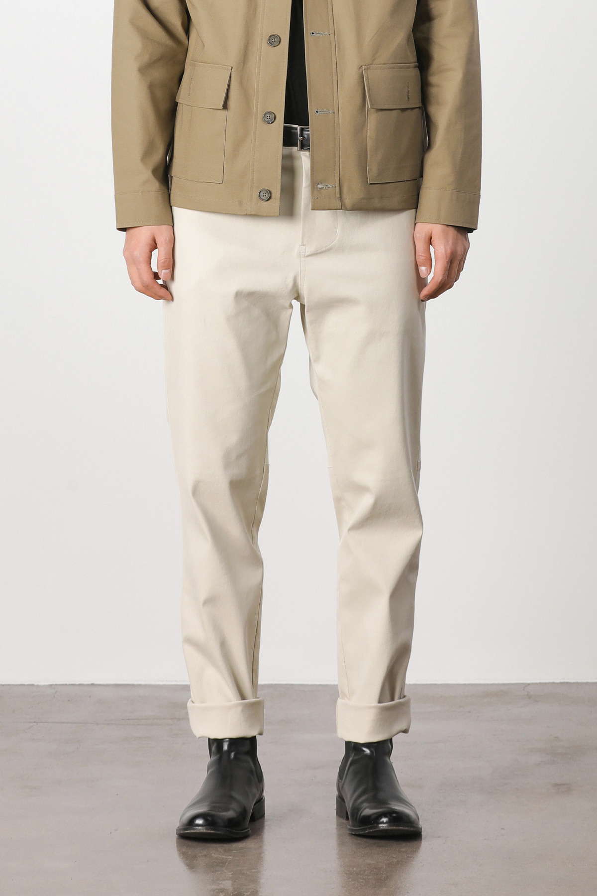 Fatigue hound tapered pants (ivory) #jp02